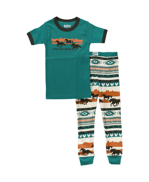 Chase Your Dreams - Horse - Kid PJ Set