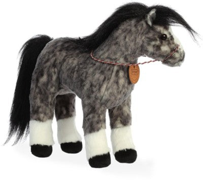 "Breyer 13"" Andalusian plush horse by Aurora"