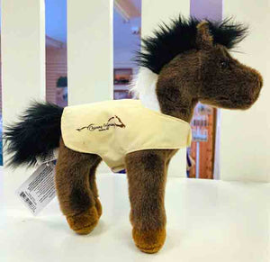 Aztec the Plush Indian Paint Horse