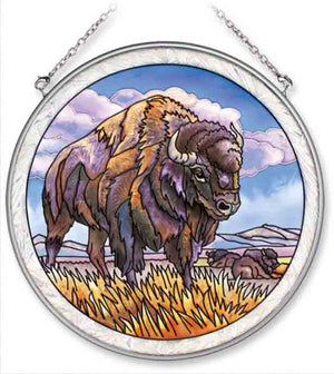 Bison Standing Sun Catcher