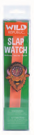 Wild Republic Bison Slap Watch
