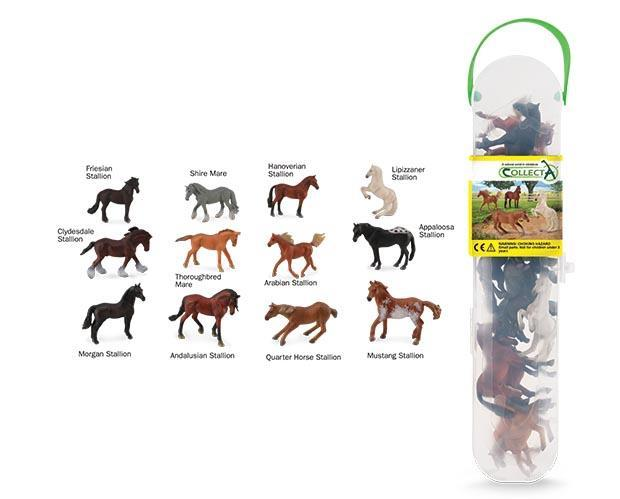 Breyer by CollectA Box of Mini Horses