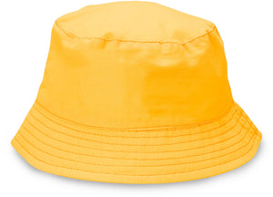Yellow Camping Baby Sun Hat