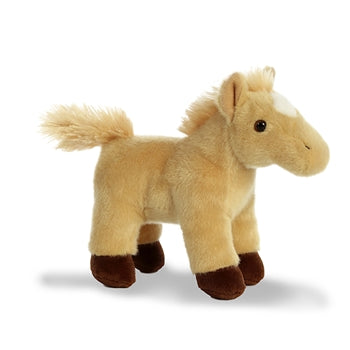 Cricket the Stuffed Tan Horse with Sound