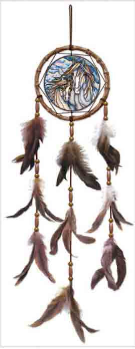 The Dream Creates the Journey Sun Catcher-Dream Catcher