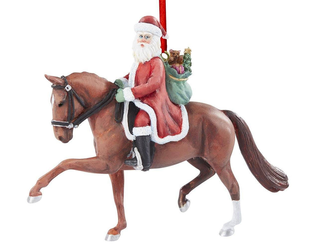 DRESSAGE SANTA ORNAMENT