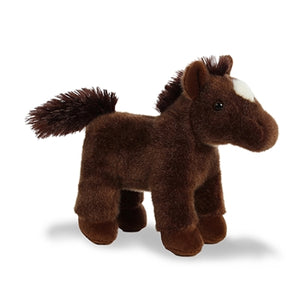 Freedom the stuffed Brown Horse with sound
