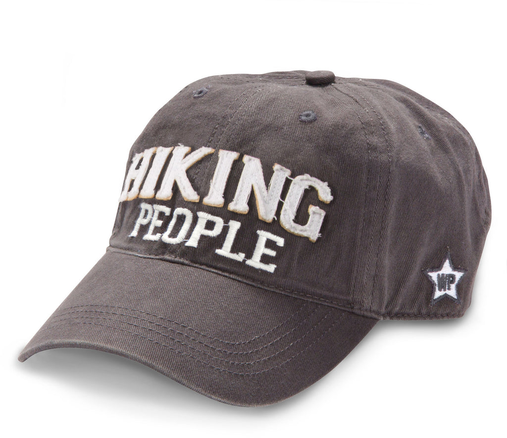 Hiking People Adjustable Hat