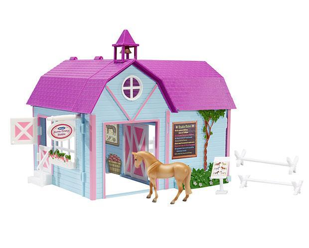 Horse Crazy Stable by Breyer