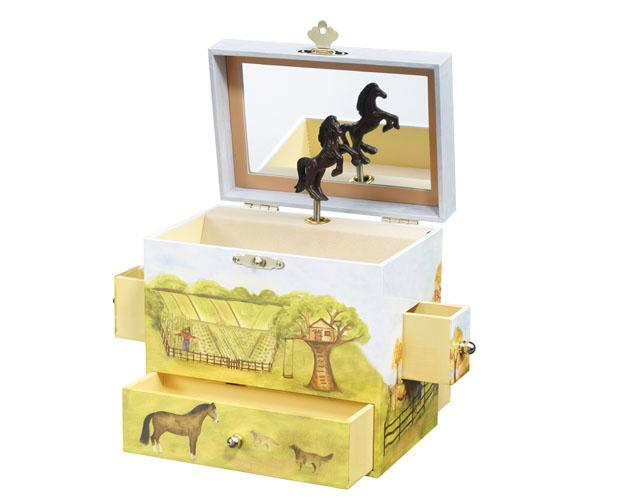 Horse Ranch Jewelry Box