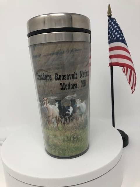 Stallion Thunder's Band 16 oz Travel Mug