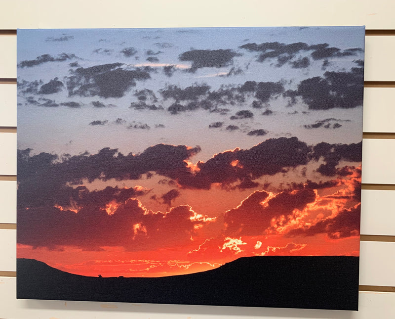 Local Artist Albert Myran Jr. 16x20  Sunset