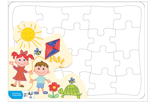 Create your own Puzzle 20 pc