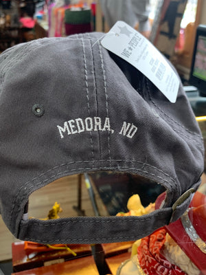 Horse People Adjustable hat with Medora, ND