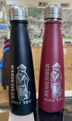 Smokey the Bear 75th Anniversary water bottle