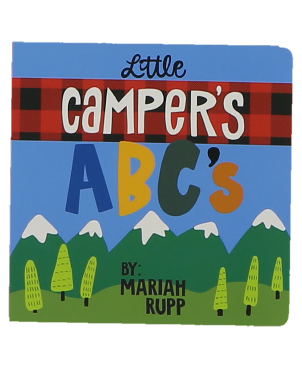 Little Camper Board Book