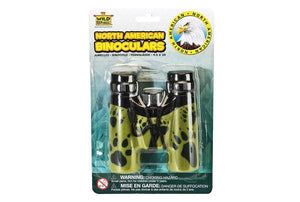 Wilderness print binoculars