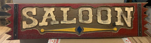 Local Artist Mike Piroutek Saloon Sign