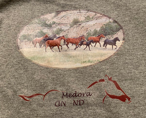 Running Horses Children's Pullover Sweatshirt