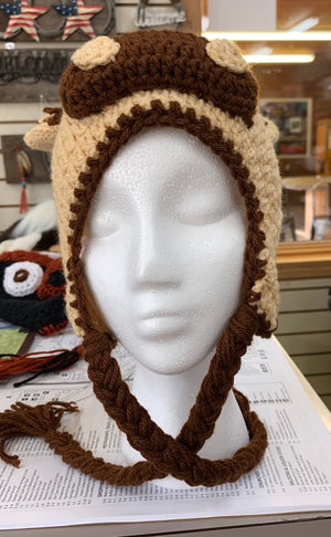 Crocheted Horse Hat