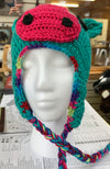 Curly Mane Crocheted Horse Hat