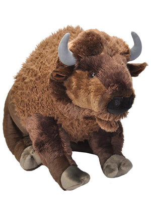 Wild Republic Jumbo Plush Bison