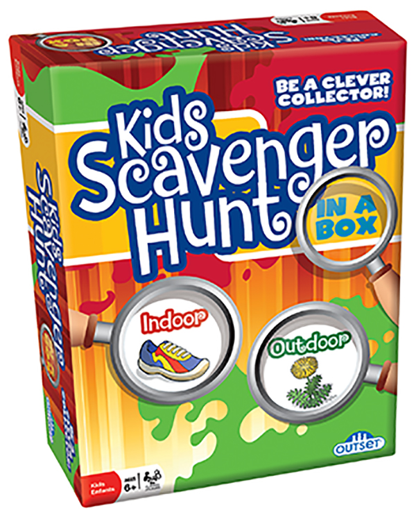 Kid's Scavenger Hunt Game