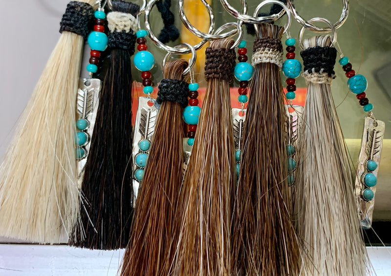 Tassel Horse Hair Key Chain