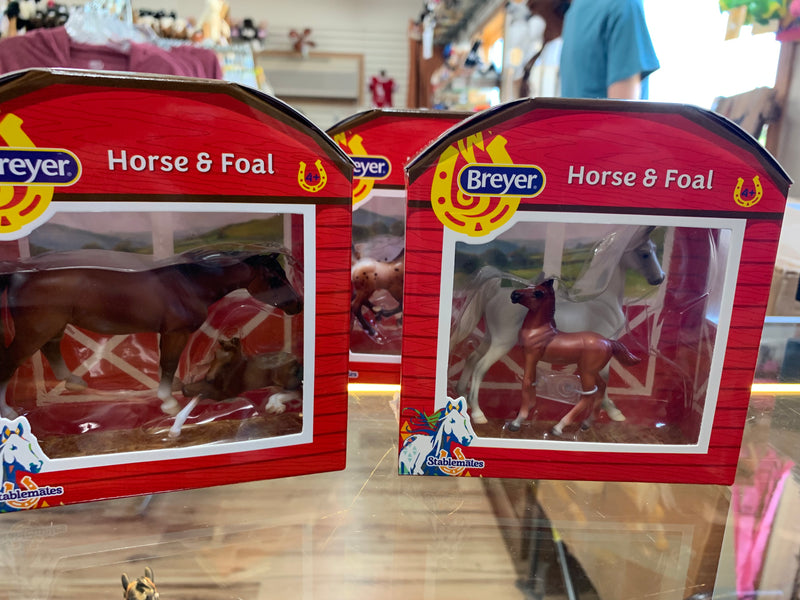 Horse and foal assortment
