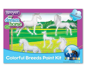 HORSE CRAZY COLORFUL BREEDS PAINT KIT