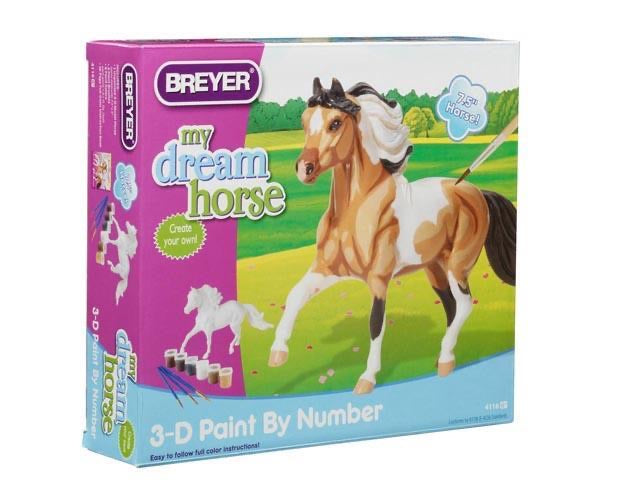 MY DREAM HORSE - 3D PAINT - BY - NUMBER ACTIVITY KIT