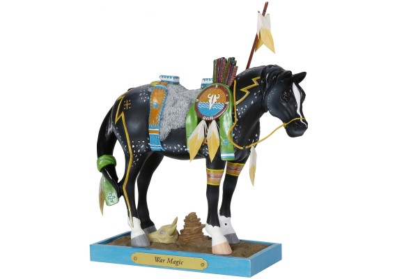 Trail of Painted Ponies War Magic Figurine