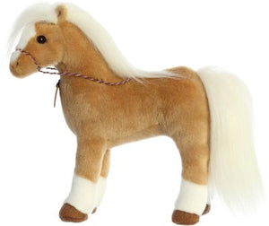 "Breyer 13"" Morgan plush horse by Aurora"