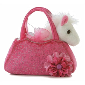 "8"" Pink Pet Carrier"