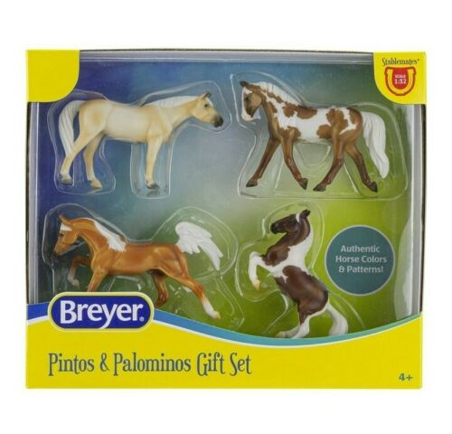Breyer Horses Pintos and Palominos Gift Set