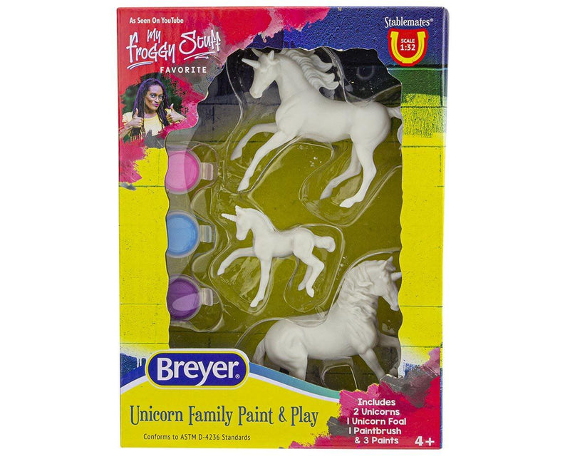 UNICORN FAMILY PAINT & PLAY