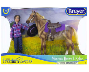 Western Horse and Rider by Breyer