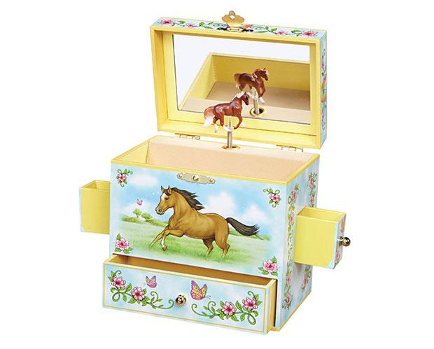 Wild and Free Musical Jewelry Box