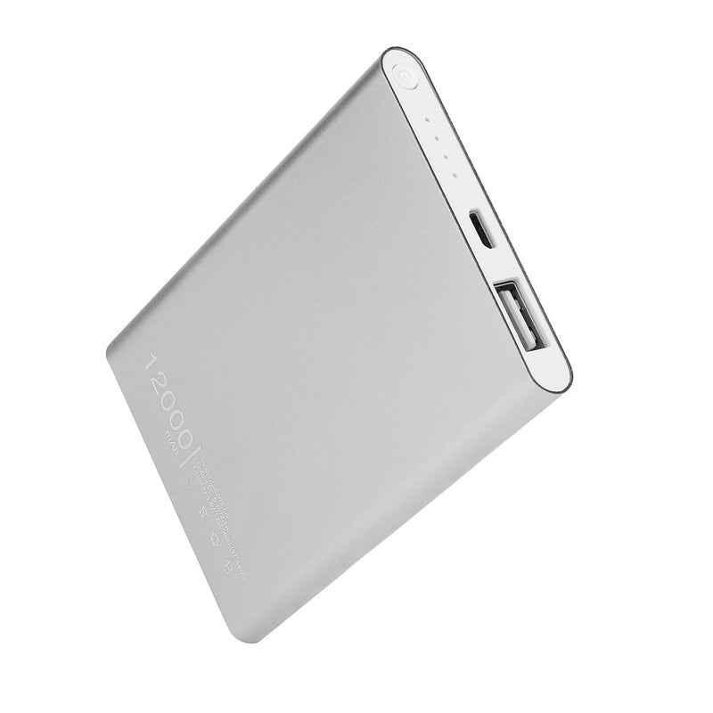 Ultra Thin 12000mAh USB Power Bank