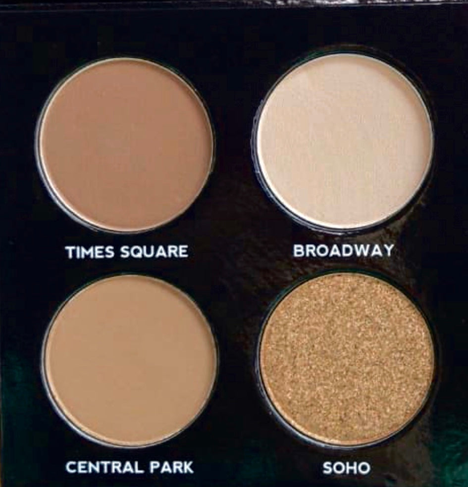 New York on the go eyeshadow palette - PREORDER
