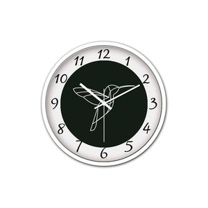 Wall Clock with Modern and Nice Design for Wall Decoration (White)