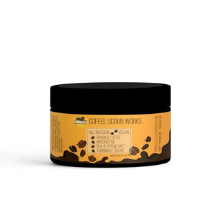 The Coffee Salt and Sugar Scrub with Shea Butter