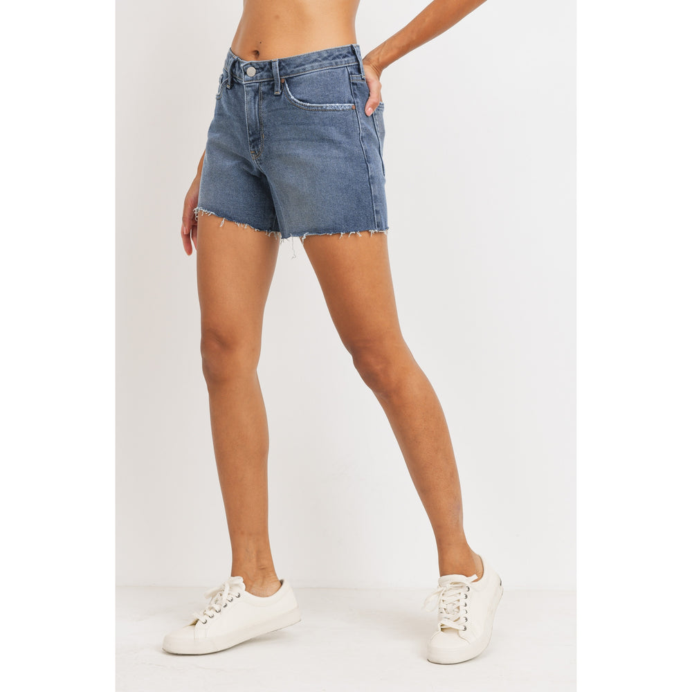 Jasper High Rise Shorts - Perfectly Posh Boutique