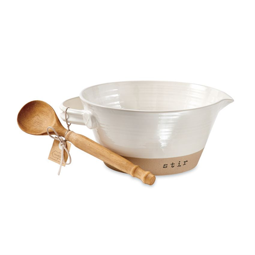 Stoneware mixing bowl set - Perfectly Posh Boutique