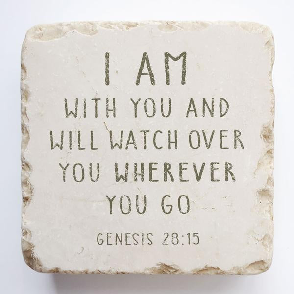 Twelve stone art-small block-Genesis 28:15