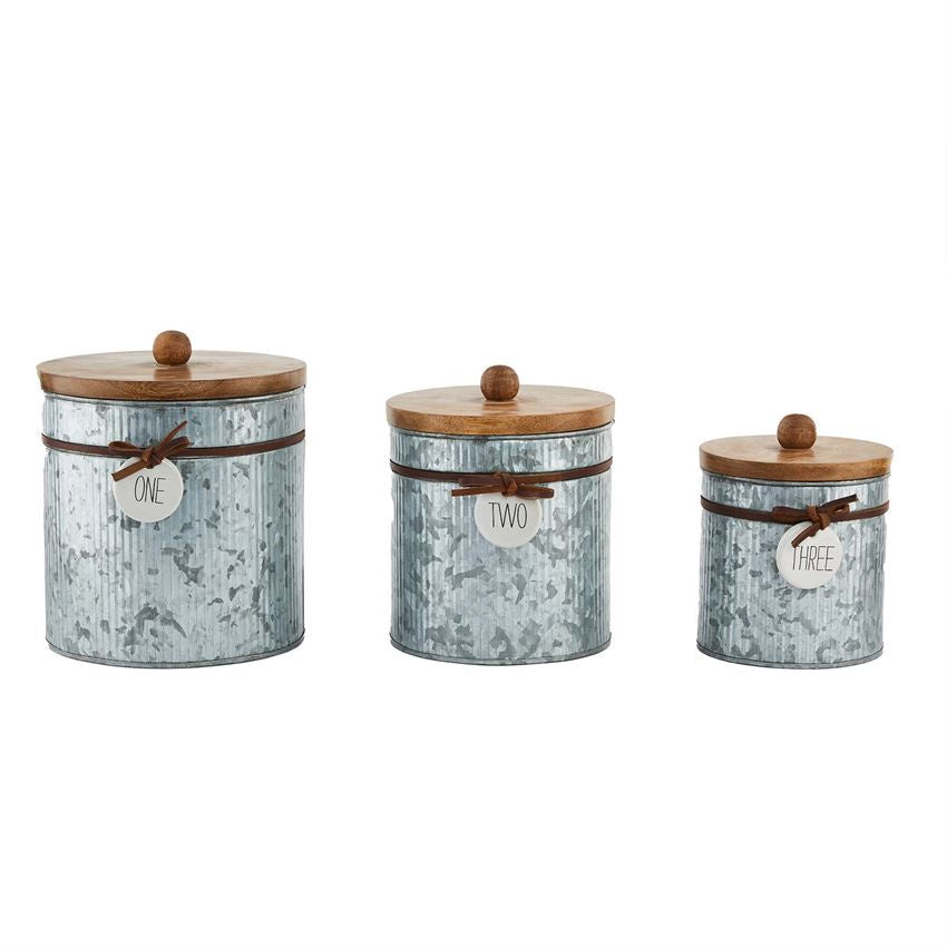 Bistro Nested Canister Set