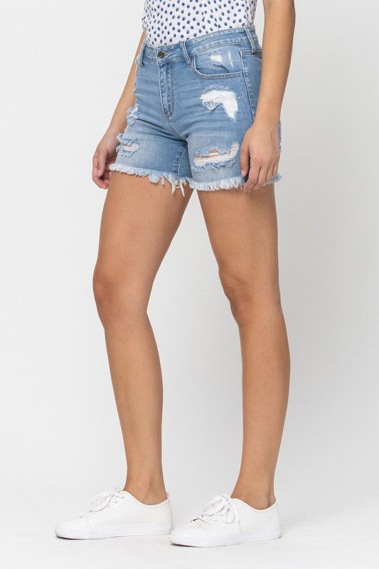 Rally High Rise Shorts - Perfectly Posh Btq