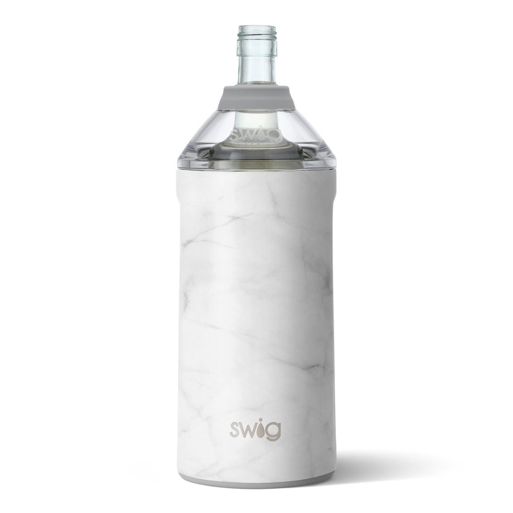 Swig Wine Insulator-Matte Marble - Perfectly Posh Boutique