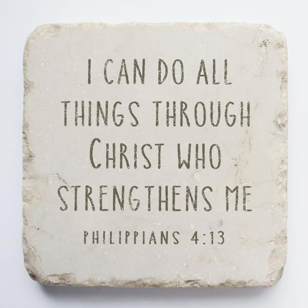Twelve stone art-large block-Philippians 4:13