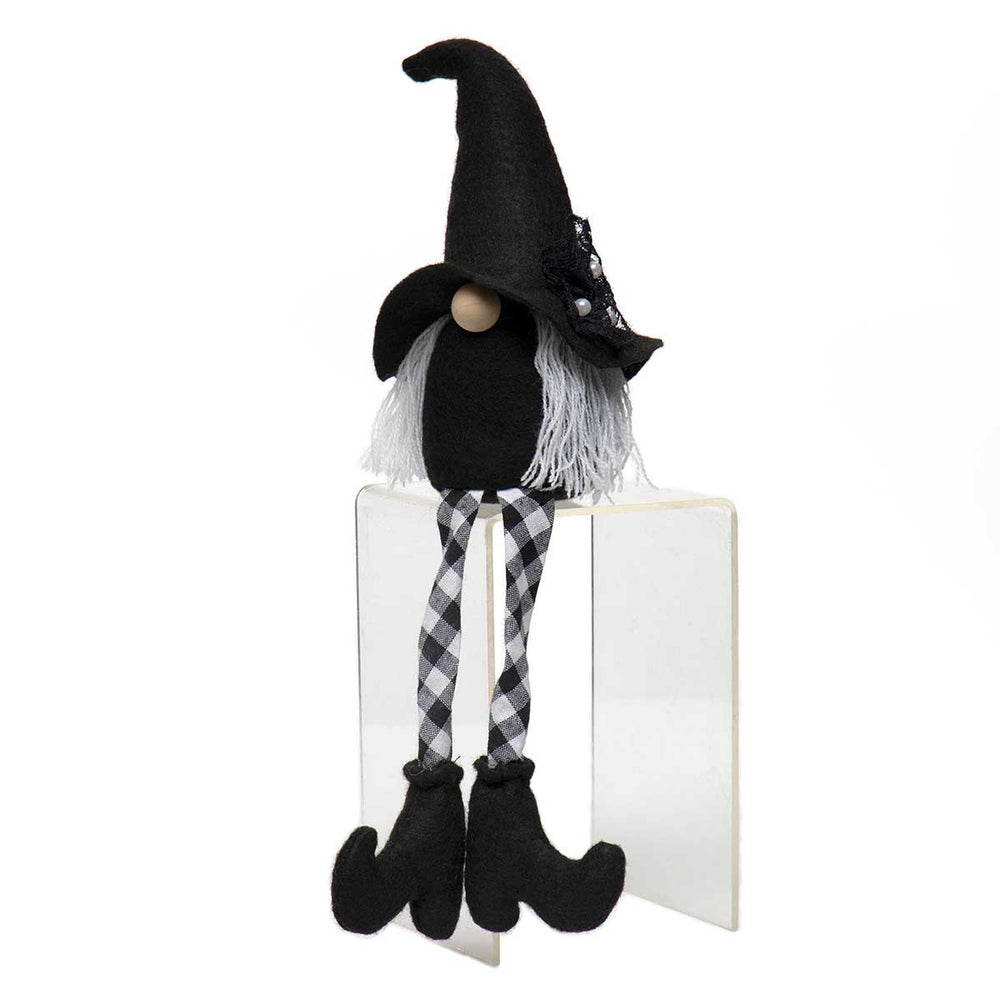 Witch with Checkered Legs - Perfectly Posh Boutique